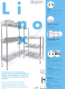 SHELVES AND TROLLEYS CATALOG